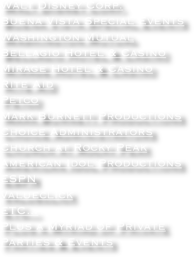 Walt Disney Corp.